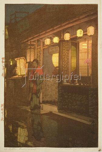 Yoshida Hiroshi: A Little Restaurant