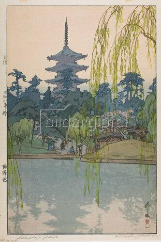 Yoshida Hiroshi: Sarusawa Pond, 1933