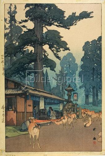 Yoshida Hiroshi: Way to the Kasuga Shrine, 1938