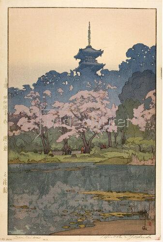 Yoshida Hiroshi: ankeien, 1935