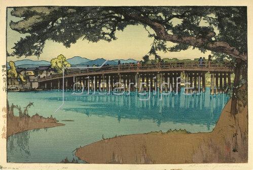 Yoshida Hiroshi: Seta Bridge, 1933