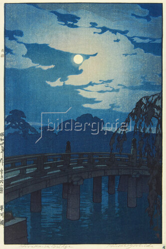 Yoshida Hiroshi: Die Hirakawa Brücke, 1929