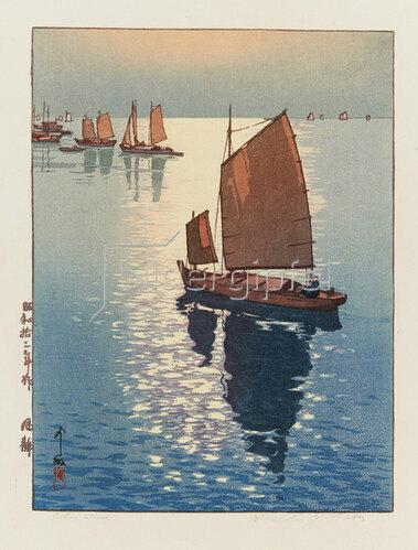 Yoshida Hiroshi: Windstille, 1937