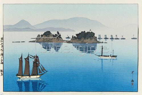 Yoshida Hiroshi: Nabeshima, 1930