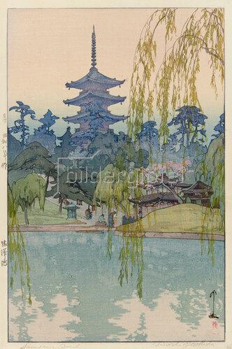 Yoshida Hiroshi: Der Sarusawa Teich, 1933