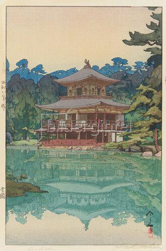 Yoshida Hiroshi: Goldener Pavillon, 1933