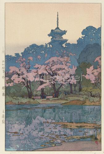 Yoshida Hiroshi: Der Sankei Park, 1935