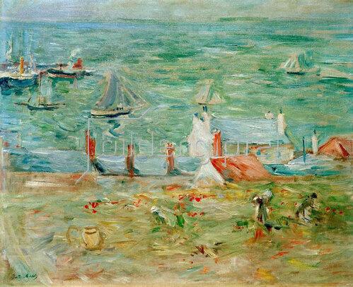Berthe Morisot: Der Hafen von Gorey, 1886.