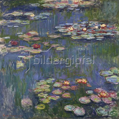 Claude Monet: Seerosen, 1916