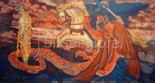 Nikolai Konstantinow Roerich: Zmiewna (Die Tochter des Drachen)