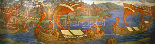 Nikolai Konstantinow Roerich: Sadko