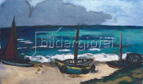 Max Beckmann: Aufziehendes Gewitter am Meer, 1942