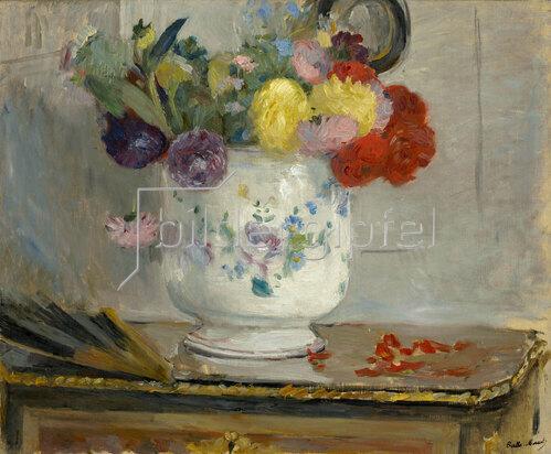 Berthe Morisot: Dahlien, 1876