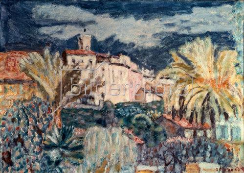 Pierre Bonnard: Landschaft bei Le Cannet
