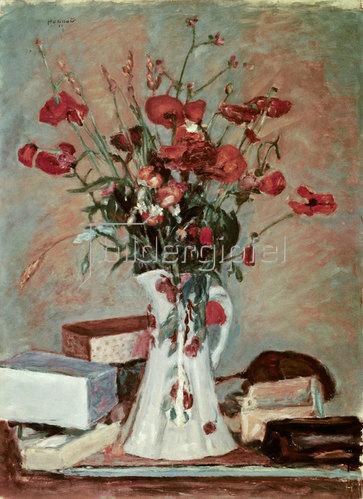 Pierre Bonnard: Mohnblumen und Gräser