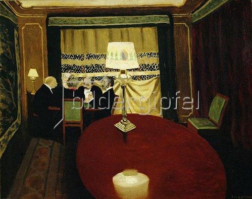 Felix Vallotton: Le Poker, 1902