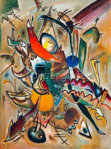 Wassily Kandinsky: Malen mit Punkten, 1919.