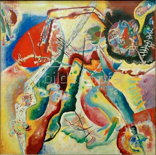 Wassily Kandinsky: Bild mit rotem Fleck