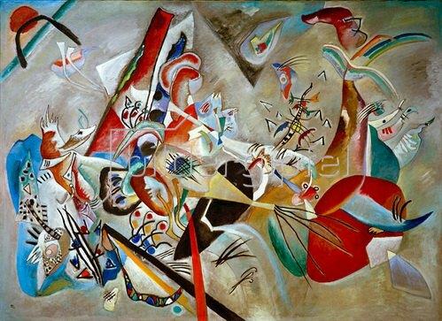Wassily Kandinsky: Im Grau, 1919.