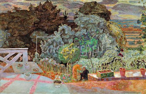 Pierre Bonnard: Die Terrasse, 1918
