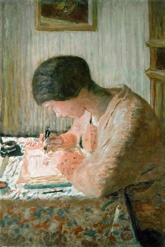 Pierre Bonnard: Schreibende Frau