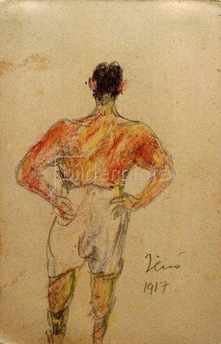 László Moholy-Nagy: Mein Bruder Jenö, 1917