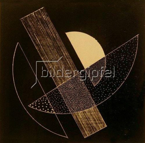 László Moholy-Nagy: Ohne Titel (Konstruktivistische Komposition), 1922/23