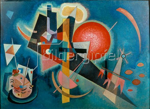 Wassily Kandinsky: Im Blau, 1925
