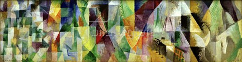 Robert Delaunay: Window Picture, 1912