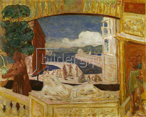 Pierre Bonnard: Monumente des Mittelmeers