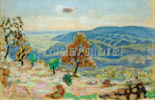 Pierre Bonnard: Berglandschaft)