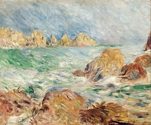 Auguste Renoir: Marine - Guernsey 1883