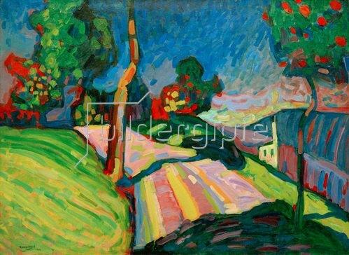 Wassily Kandinsky: Murnau, Kohlgruberstraße