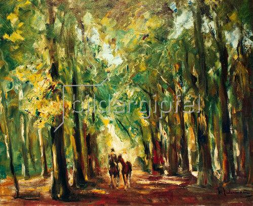 Max Liebermann: Reiter im Tiergarten