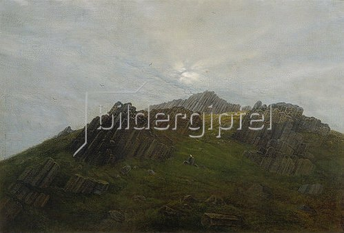 Carl Gustav Carus: Geologische Landschaft. 1820