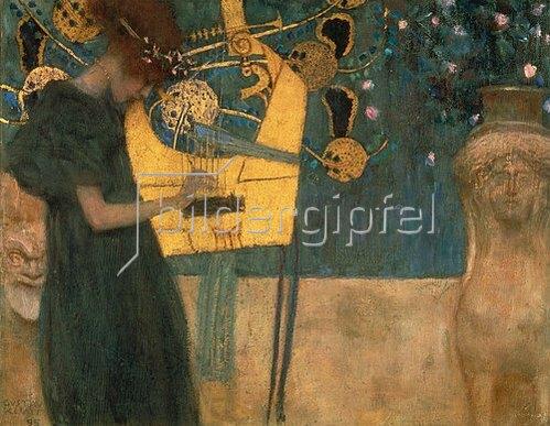 Gustav Klimt: Die Musik. 1895