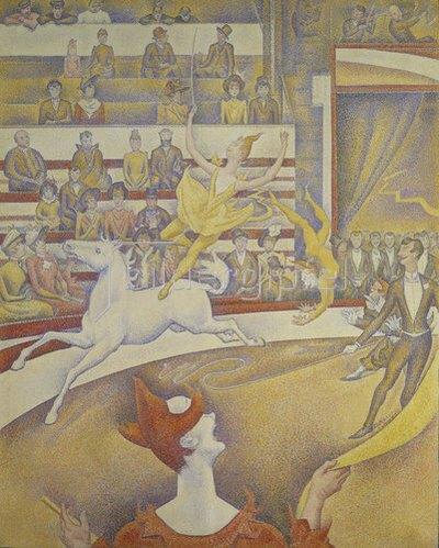 Georges Seurat: Der Zirkus.