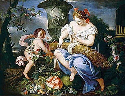 Anonym: Allegorie des Sommers. 17. Jahrhundert.
