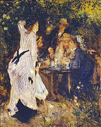 Auguste Renoir: Im Garten (Moulin de la Galette). 1875.