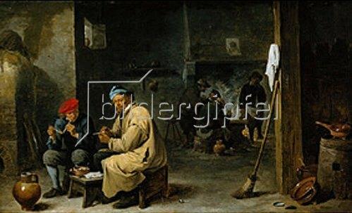 David Teniers: In der Dorfschenke. Um 1650.