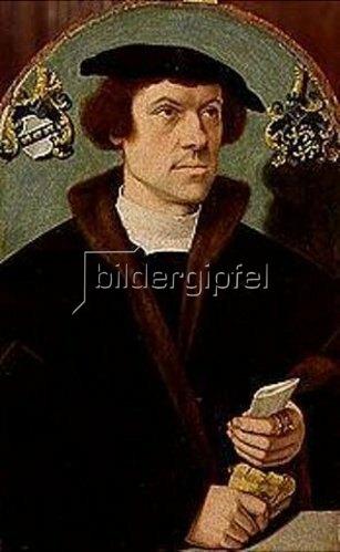 Bartholomäus Bruyn d.Ä.: Männliches Bildnis.