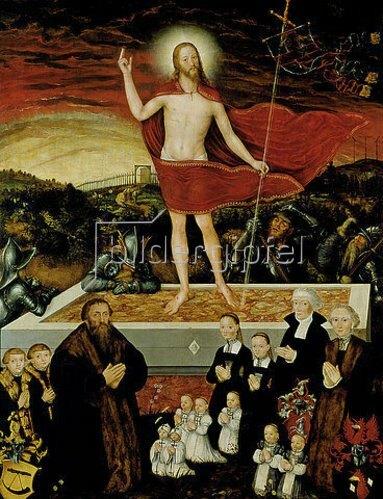 Lucas Cranach d.J.: Allegorie der Erlösung. 1557.