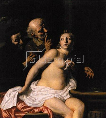 Nicolaes de Helt-Stocade: Susanna und die beiden Alten.