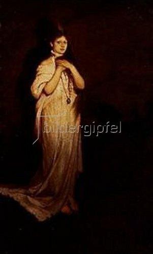 Gabriel von Max: Gretchen in der Walpurgisnacht.