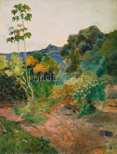 Paul Gauguin: Küstenlandschaft auf Martinique (Tropische Vegetation). 1887