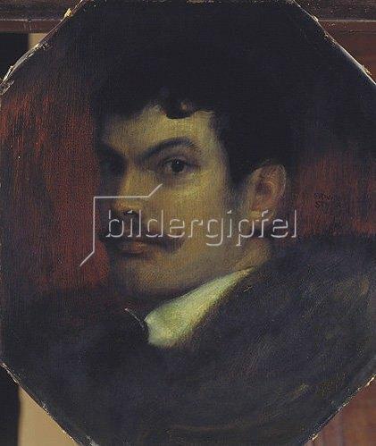 Franz von Stuck: Selbstbildnis.