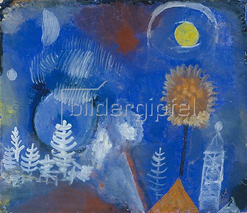 Paul Klee: Landschaft der Vergangenheit. 1918