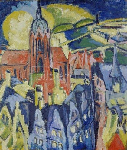 Ernst Ludwig Kirchner: Frankfurt. 1910/14