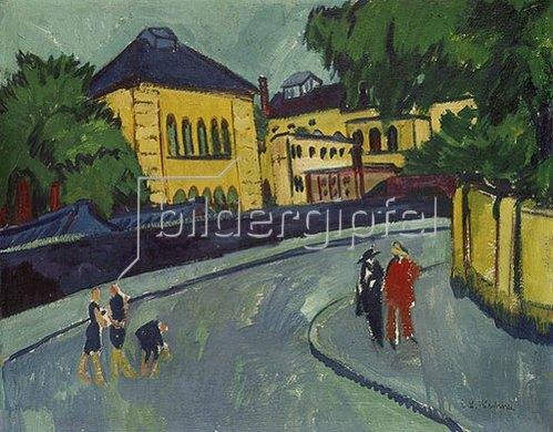 Ernst Ludwig Kirchner: Dresden, Friedrichstadt. 1909