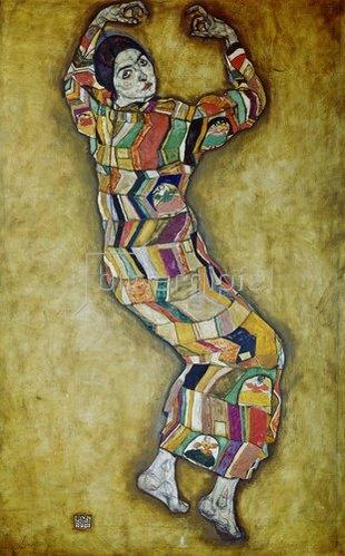 Egon Schiele: Bildnis Friederike Maria Beer. 1914.
